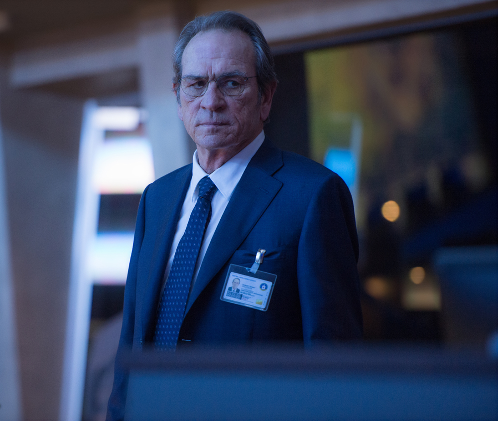 "TOMMY LEE JONES as CIA Director Dewey in ""Jason Bourne,"" the action-thriller in which Matt Damon returns to his most iconic role. Paul Greengrass, the director of The Bourne Supremacy and The Bourne Ultimatum, once again joins Damon for the next chapter of Universal Pictures??Bourne franchise, which finds the CIA?™s most lethal former operative drawn out of the shadows."
